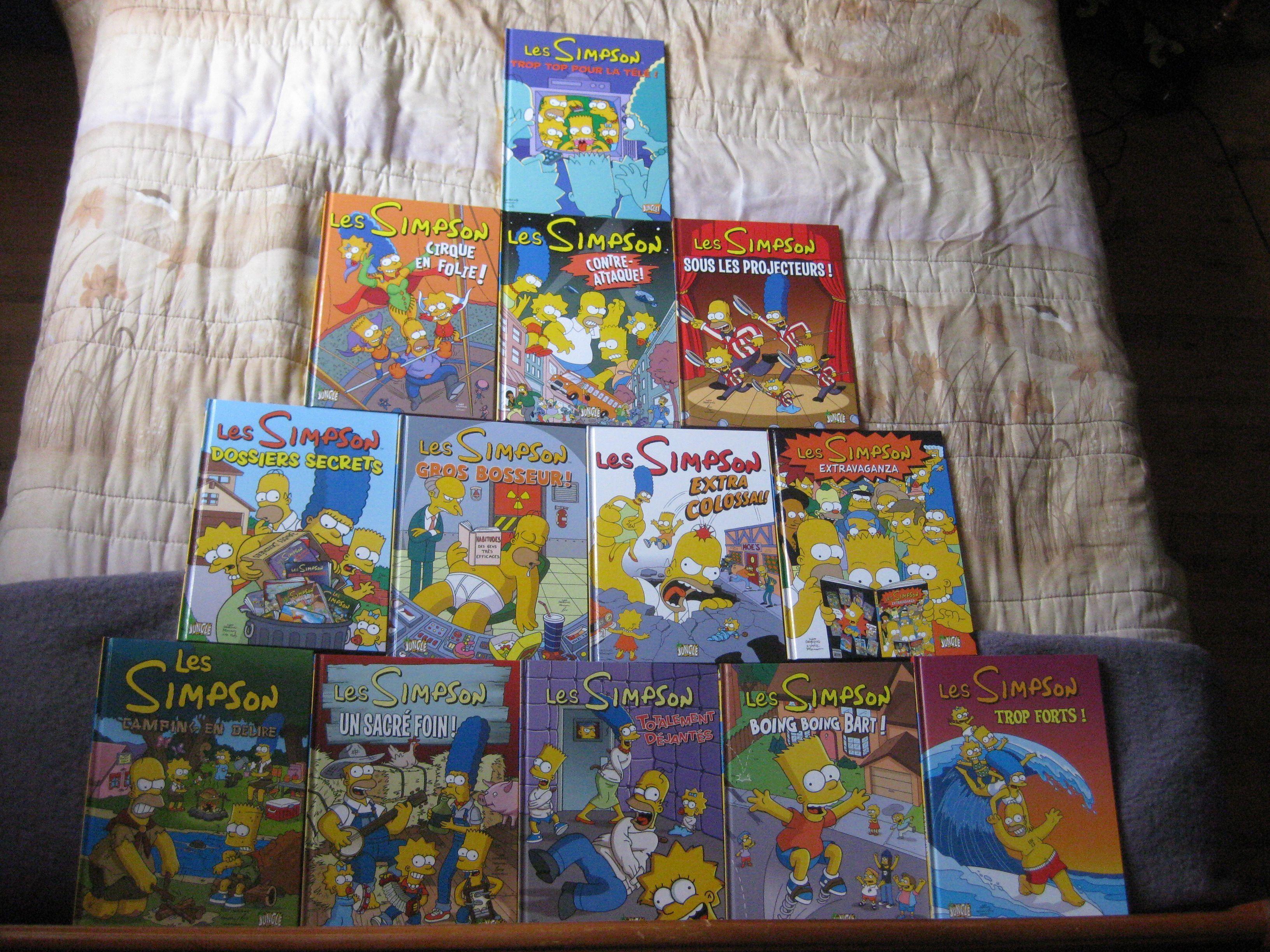 Livres et bd des simpsons - Bande dessinee simpson ...