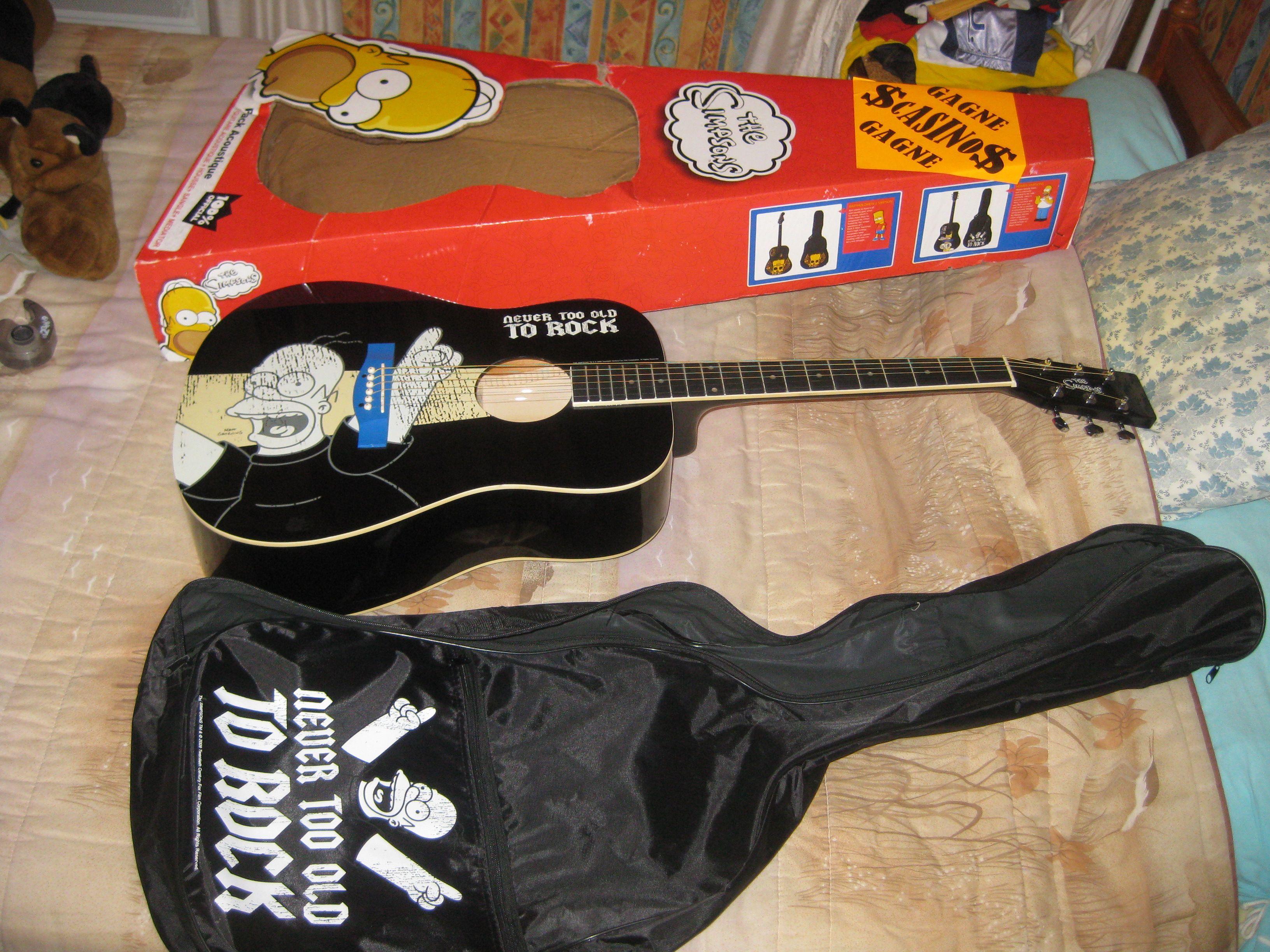 Guitare classique - Guitare simpson ...